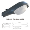 led hid cobra street light housing with borosilicate glass
