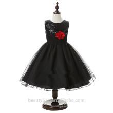 Vestido de noiva infantil exclusivo e respirável vestido de festa vestido ED600