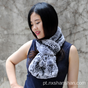Novo Design Grosso Genuine Real Fur Scarf