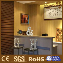 Foshan Interior Decoration Panel de pared de PVC compuesto