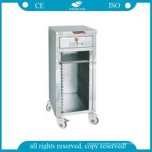 Carrinho AG-Cht014 para suportes de registos médicos com 24 prateleiras