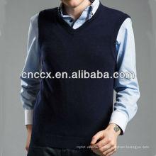 13STC5539 v-ausschnitt ärmellose pullover männer kaschmir weste