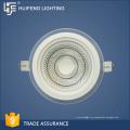 O painel durável de alumínio de alta qualidade do quadro + do vidro conduziu a luz 5w