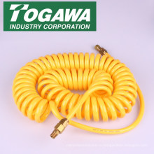 Спиральный пластиковый воздушный шланг для быстрого соединения. Выпускаемые промышленностью реконструированная гостиница для паломников togawa. Сделано в Японии (ПВХ шланга высокого давления)