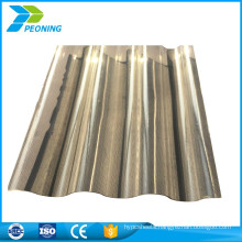 China manufacturing greenhouse clear corrugated plastic roofing panels suppliers