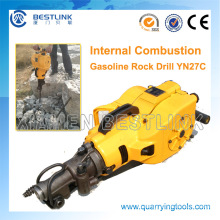 Taladro de roca de la gasolina Yn27c para taladrar el agujero