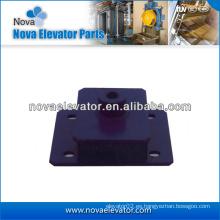 Amortiguador de elevador para la máquina de tracción de ascensor, elevador de caucho absorbedor de humedad, elevador de caucho absorbente