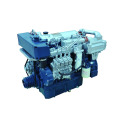 Barco marino 250 280 motor diesel marino de 300 caballos de fuerza 6 cilindro y piezas marinas del motor para la venta