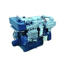 новый тип 450 л. с. судовой двигатель морской дизельный двигатель с коробкой передач для продажи в Miandian