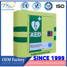 Direct Factory Hsinda-Kabinett Neues Produkt Erste-Hilfe-Schrank für Defibrillator AED