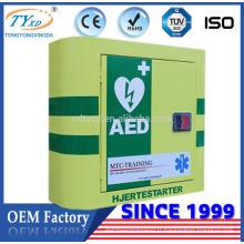 Armoire de premiers secours Hsinda-Cabinet pour le défibrillateur AED