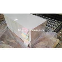 Henan Zhengzhou Sublimation Plaque en aluminium et bobine et plaque en aluminium utilisée pour intérieur / extérieur 1200x600mm, 600x400mm personnalisée
