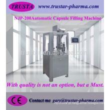 Máquina de enchimento automática da cápsula de NJP-200