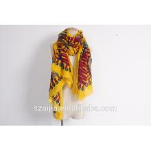 Новые дамы племенной печати 100 вискоза шарф и шаль