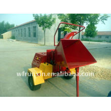 18hp diesel engine powered wood chipper with CE