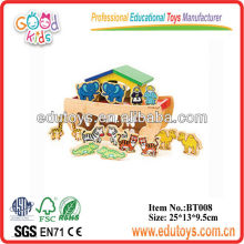 Brinquedos de bambu para crianças - Noah's Ark Toy