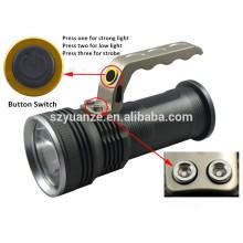 Großhandel 3.7v wiederaufladbare flache LED-Taschenlampe