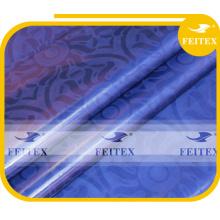 Риш Shadda базен африканских одежды хлопчатобумажная ткань Гвинея brocade для свадьбы FEITEX