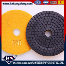 4′′ Wet Diamond Polishing Pads for Granite and Marble