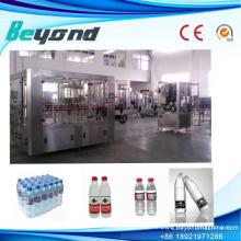PLC 3-in-1 Wasserfüllung Capping Maschine für Haustier Flasche