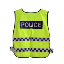 Gitter Reflexstreifen Verkehrspolizei Hohe Sichtbarkeit Sicherheitsweste (YKY2802)