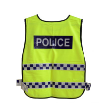 Lattice Reflective Tape Traffic Police High Visibility Safety Vest (YKY2802)