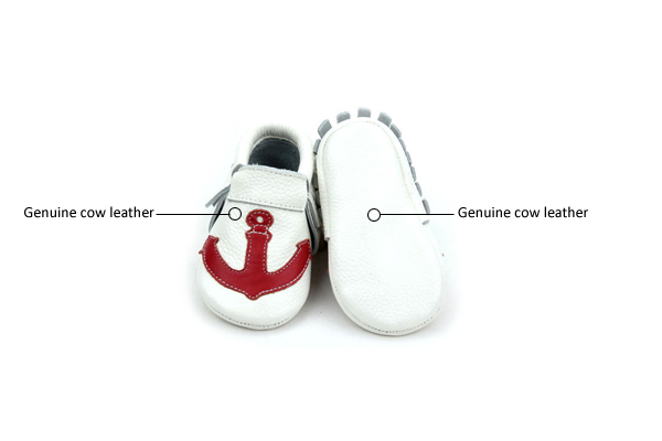 Unisex Baby Moccasin Shoes
