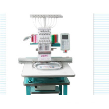 Good Quality Single Head Flat Embroidery Machine for Leather/Curtain