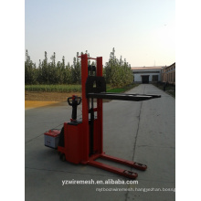 Full electric pallet stacker in forklift manufacturer