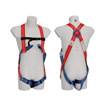 Polyester Harness Kekuatan Tinggi Full Body Harness Pengaman