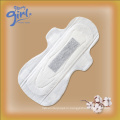 Hygiene product China female cotton sanitary pad brands manufacturer