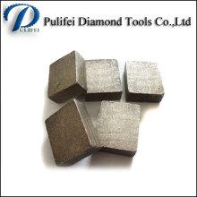 Segment de pierre de marbre de bloc de granit de coupe de diamant de Pulifei en vente