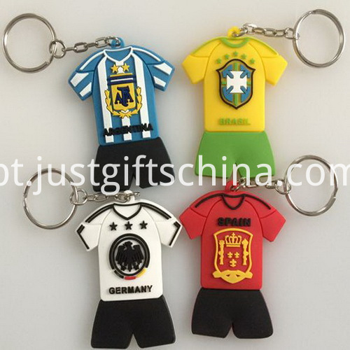 Promotional Pvc Keyrings