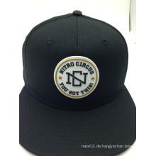 OEM Patch Logo Design Flat Brim Hüte mit Hysteresen (ACEB0008)