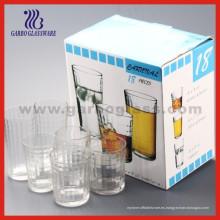El vaso de cristal 18PCS fijó, la cristalería fijó (TF-18C)