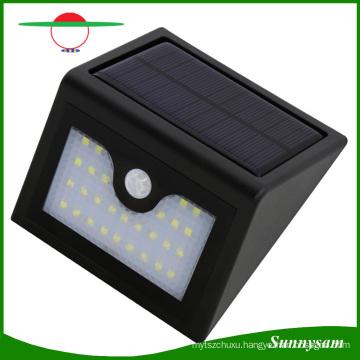 28 LED Outdoor Lighting Infrared Motion Sensor Solar Wall Lamp Waterproof Garden Patio Yard Emergency Solar Light