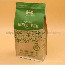Paper Laminated Pet Food Plastic Bag with Aluminum Foil