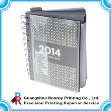 Дешевые А5 спираль йо ноутбука с изготовленным на заказ печатанием журнала A4
