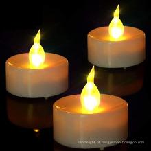 Luminária de velas sem chama para bateria Veladora LED