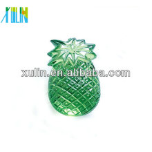 cute green fruit acrylic beads pineapple shaped beads