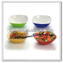P151 Banquet 200mm Acrylic Square Salad Bowl