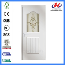 *JHK-G13 Half Moon Glass Wooden Door Interior Sliding Glass French Doors Commercial Frosted Glass Door