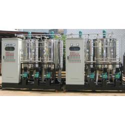 The condensate adding ammonia device