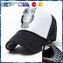 Hot promoção de qualidade superior planície snapback camionista chapéus preço razoável