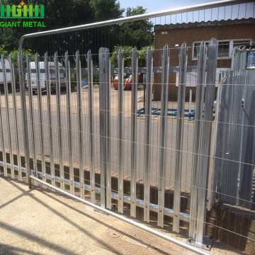 Factory industrial Metal Steel Palisade Fencing