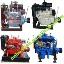 Motor diesel refrigerado por agua de 13.5KW-200KW con certificado CE / ISO