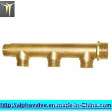 Brass Manifold for Water -Brass Three Ways Valve (a. 0188)