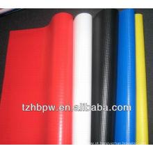Tecido de poliéster com PVC revestido, tecido de encerado de poliéster revestido de PVC
