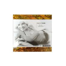 Marco caliente de la foto del mdf de la cáscara del paua del oro de la venta