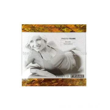 Cadre de photo mdf gold paua shell